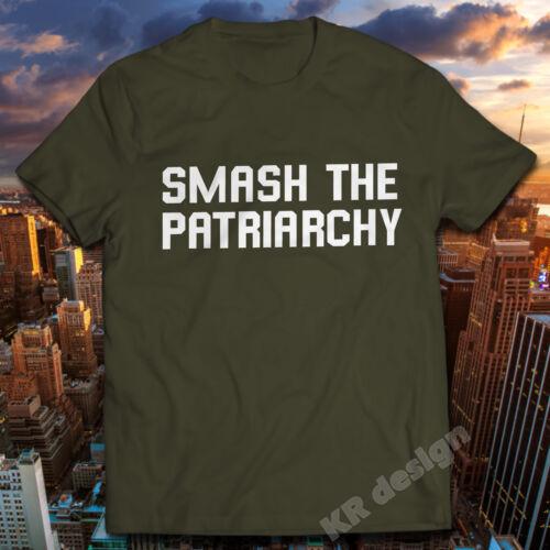 FEMINIST SMASH THE PATRIARCHY T-shirt Feminism Funny Tshirt Unisex Ladies tee