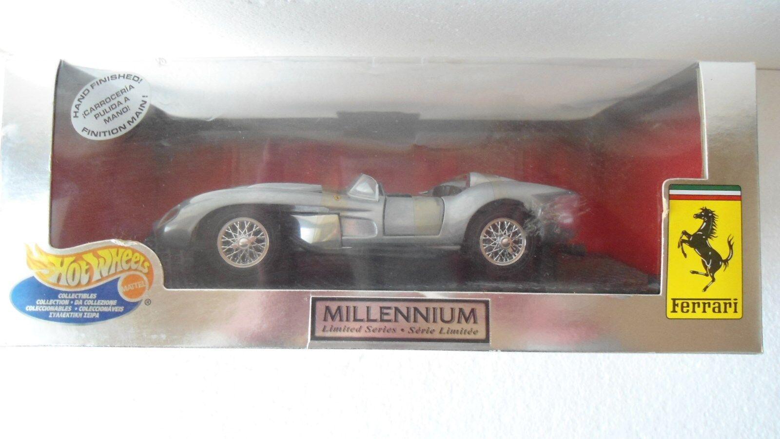 Ferrari 250 Testa Rossa HOT WHEELS millenium Limited 1 18, NEUF dans sa boîte, RARE RARE