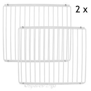 2 X Réfrigérateur étagère Pour Gorenje Réfrigérateur Couché Plastique Réglable Rack-afficher Le Titre D'origine ModéLisation Durable