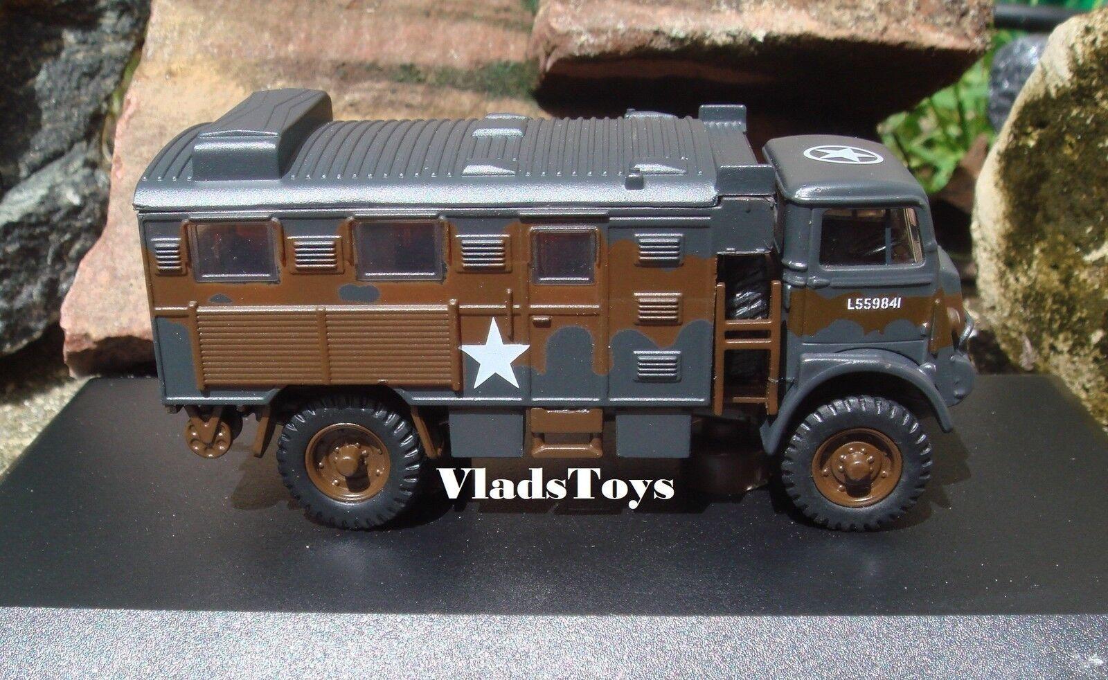 Oxford Militare 1/76 Bedford Qlr Segnali Camion Brit Esercito Esercito Esercito VIII HQ 76qlr003 760531
