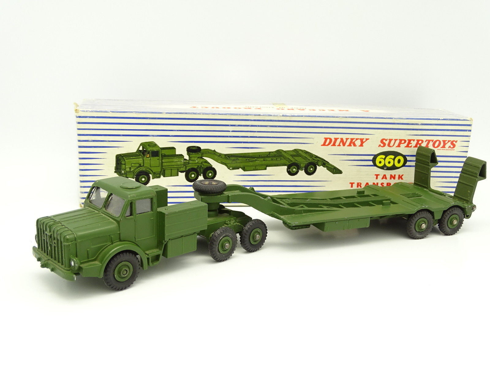 Dinky Toys GB Militaire 1 43 - Antar Tank Transporter 660