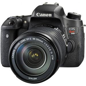 Canon EOS Rebel T6s w/18-135mm IS STM Digital SLR Camera Kit