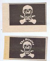 PIRATES 2 press clippings 1977  (3/9/77) 9X5cm each