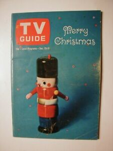 Utah Idaho Dec 25 Tv Guide 1965 Christmas Bewitched Nosy Neighbor Alice Pearce Ebay