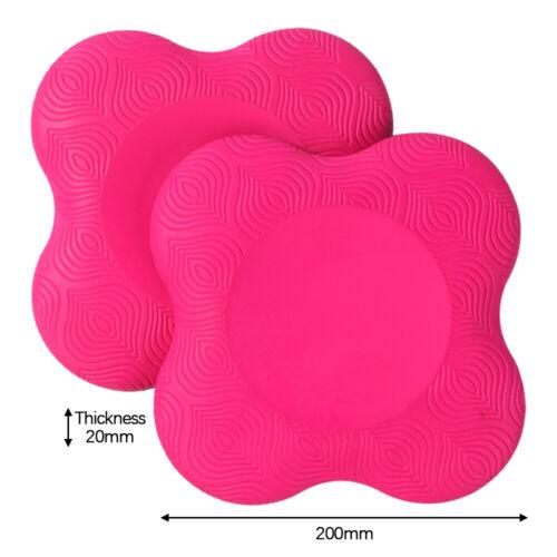 Yoga Knieschoner Kissen Extra dick für Ellbogen Handgelenk Hand PU Pad Balance