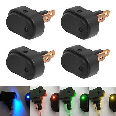 20 X 12V 30A Heavy Duty LED OFF/ON Rocker Toggle Switch Car Motor Boat 4 Colors