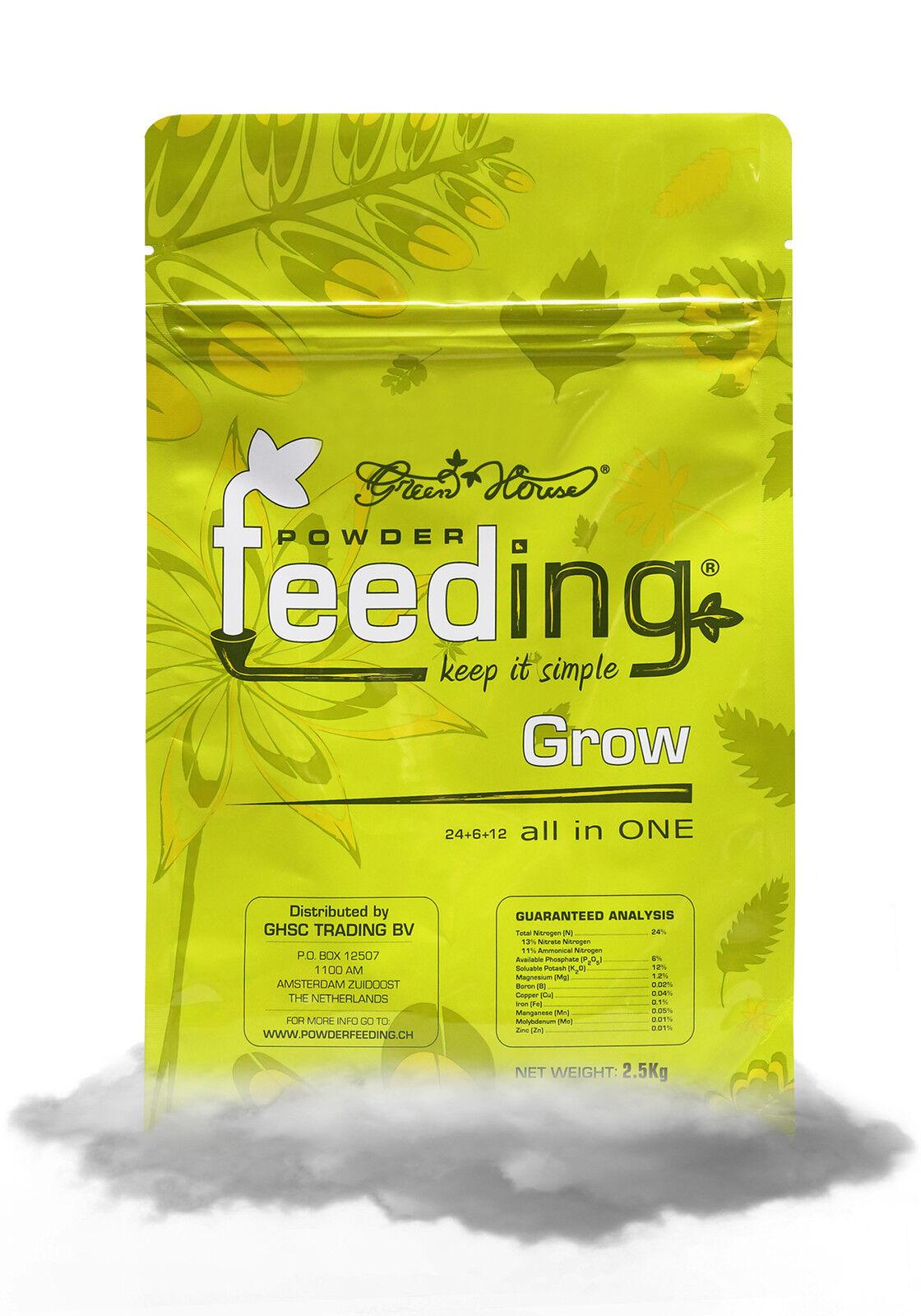 2500g Powder Feeding Grow Mother Plants 2,5kg N-P-K 24-6-12