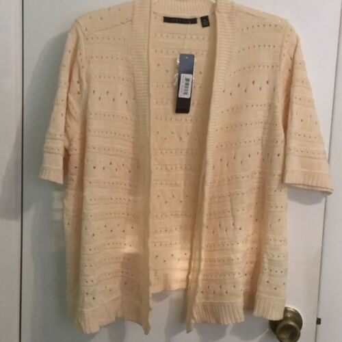 Short Open Cyrus Sleeves Front Sweater Z4XCqx