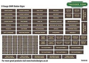 Great-Western-Railway-GWR-Station-Signs-Model-Railway-O-Gauge-7mm