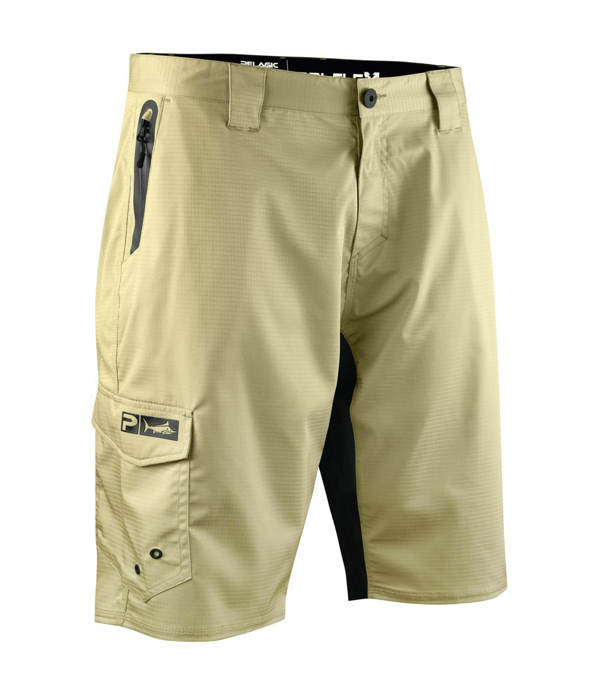 Pelagic Dri-Flex Hybrid Short Fishing khaki 1002181007