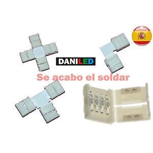 Conectores-para-tiras-LED-RGB-en-L-T-CRUCE-empalme-10mm-smd-5050
