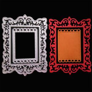 Frame-Decor-metal-corte-matrices-plantillas-para-scrapbooking-album-de-bricolaje