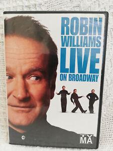 Robin Williams - Live On Broadway - Region 1,3,4,5 & 6 ...