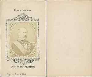 Chargement De Limage En Cours Marechal Mac Mahon Homme Politique Vintage CDV Albumen
