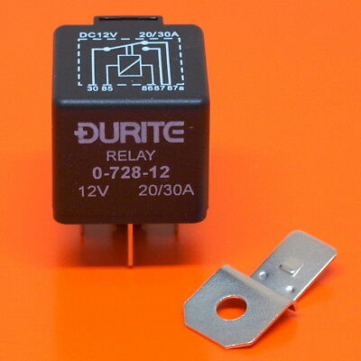 12V Relay 5 PIN Automotive 40AMP 40a Changeover RY18 Diode across the Coil