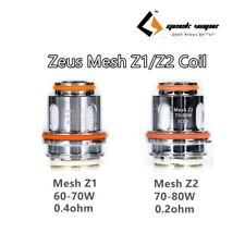 GEEKVAPE ZEUS Aegis Kit COILS, Mesh Z1 0.4Ω & Z2 0.2Ω KA1 Vape eCIG, Shisha
