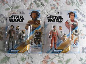 Résistance Star Wars Poe Dameron & Bb-8 avec Jarek Yeager R3-b7 630509772247