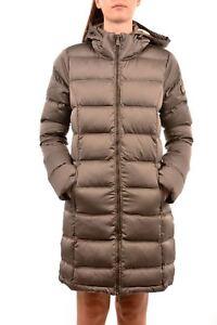 low priced e7090 edecb Dettagli su Piumino lungo donna Kirsten Ciesse Piumini fango 174CPWC00244  autunno/inverno N