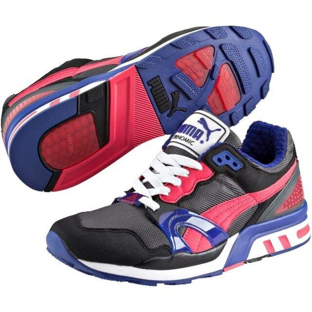 Puma Trinomic XT 2 35586815 Black-Teaberry Red Fashion Men Running Sneaker  Shoes