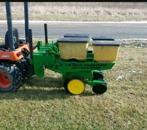 John Deere 2 Row 7000 Corn Planter With Precision Finger Meters Ebay