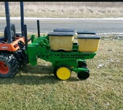 John Deere 2 Row 7000 Corn Planter With Precision Finger Meters EBay