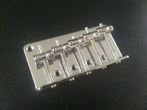 5-String-Bass-Guitar-Bridge-Chrome-6-screws