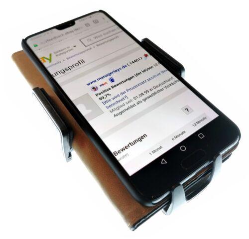 Für Motorola Moto G6 G7 G8 Auto KFZ Halterung Kugelgelenk grün schwarz HR Halter