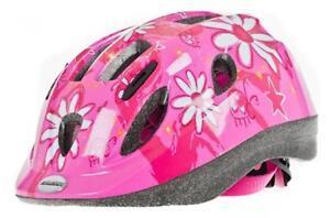 Raleigh-Mystery-rosa-fiore-ragazze-bambino-Ciclo-Bicicletta-Casco-Sicurezza-2-Taglie-csh205