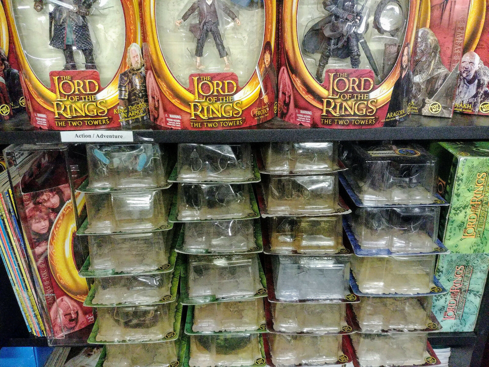 Huge multi-listing Lord of the Rings action figures ToyBiz NEW Half Moon LOTR