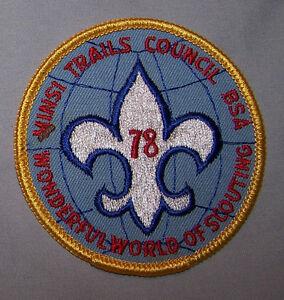 1978 MINSI TRAILS COUNCIL BSA WONDERFUL WORLD OF SCOUTING BSA P13