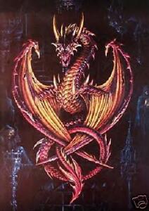 millones! La Alchemy Gothic Dragon Cross Stitch gráfico