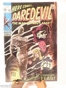 Daredevil-54-Marvel-Comic-Fine-Very-Fine-Adventure-Superhero