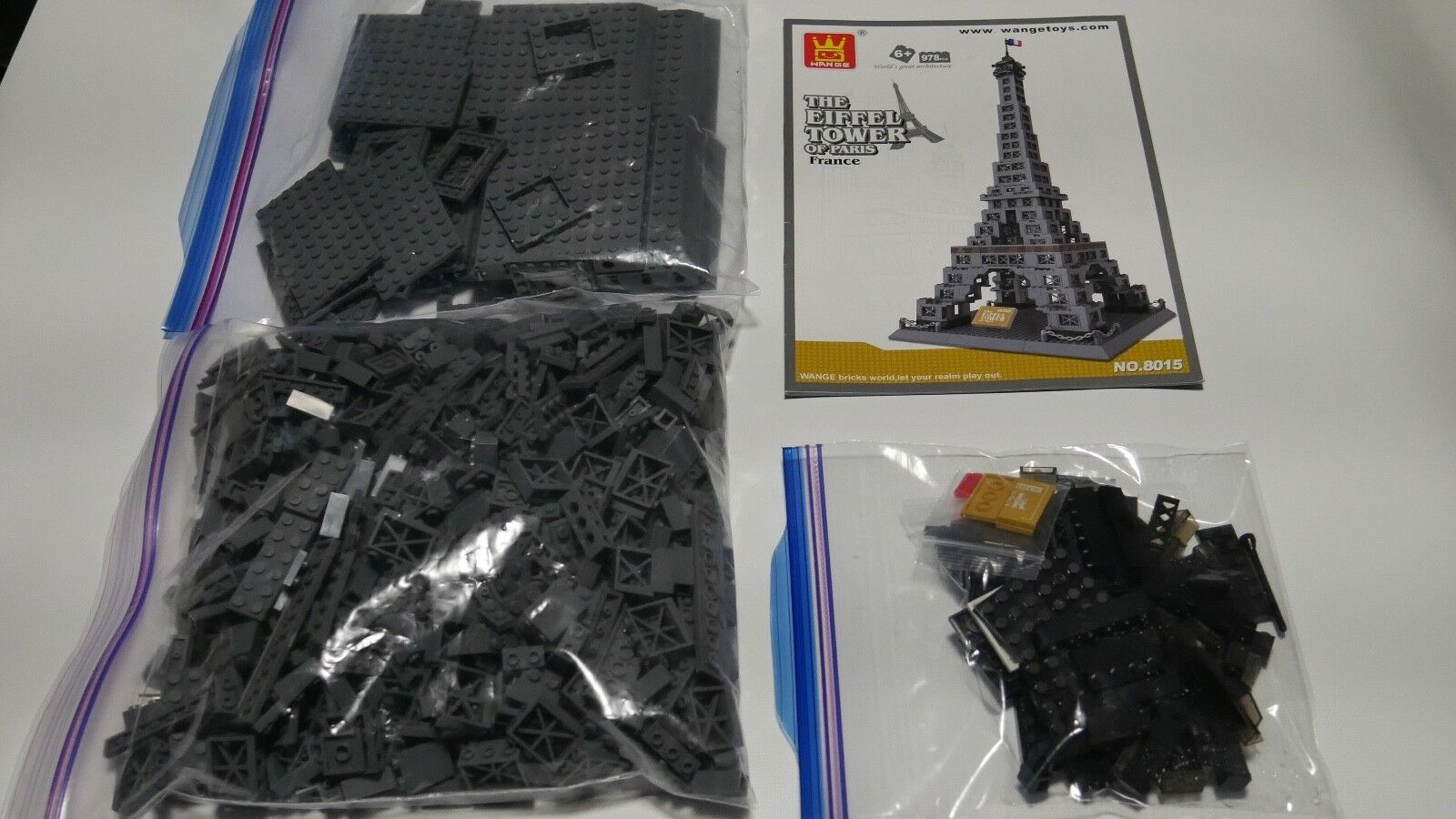 Wange The Eiffel Tower of Paris Paris Paris France Building Set c6fe1e