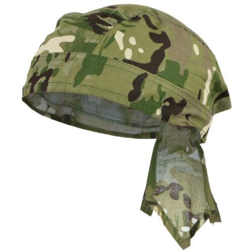 Mil-Tec Bandana Headwear Armée 100/% Coton Multitarn Camo Camouflage