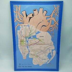 Subway Map Sign.Details About Nyc Street Art Flyelyfe Ltd Edition Print Signed Pj O Rourke Subway Map