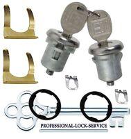 Buick Wildcat 68-70 Door Lock Key Cylinder Pair Tumbler Barrel 2 Keys