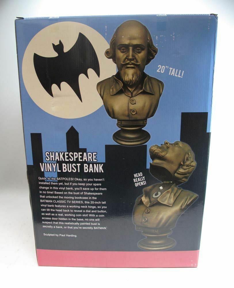 Kids//Adult Bust Statue Bank Coin Bank DC Comics Batman for Boys