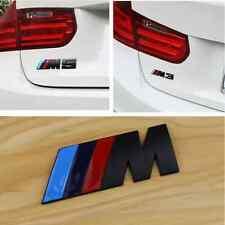 1pcs ///M Metal Body Rear Trunk Lid Stickers Badge Emblem For BMW M5 M3 M6 X5 X6