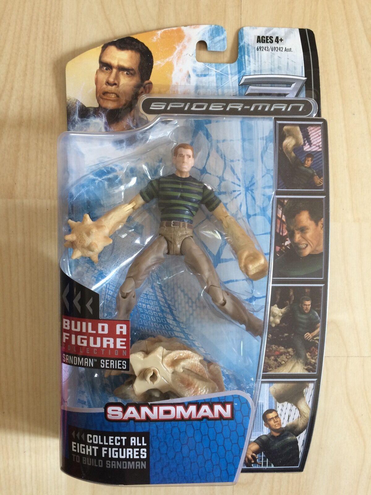 Marvel Legends Spider-Man 3 BAF Sandman. Sandman BNIB