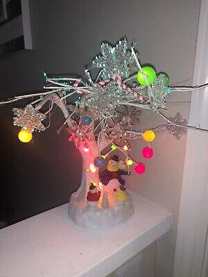 "Vintage AVON Fiber Optic 18"" Musical Snowman Christmas ..."
