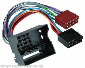 AUTORADIO-ISO-Auto-Radio-Adapter-Kabel-VW-Golf-Jetta-Passat-Sharan-T5-Touran