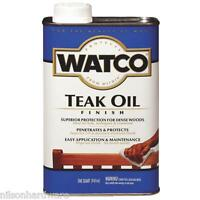 4 Qt Watco Natural Interior/ Exterior Wood Teak Oil Finish A67141