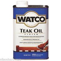 4 Qt Watco Natural Interior/ Exterior Wood Teak Oil Finish A67141
