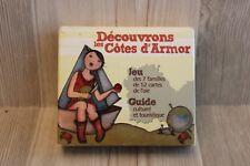3 jeux pour découvrir les Côtes d'Armor - 7 familles, 52 cartes, jeu de l'oie