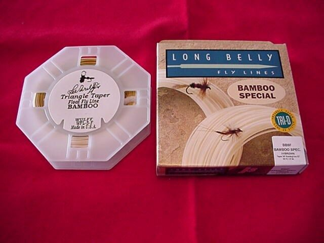 Royal Wulff NEW Triangle Taper Bamboo Fly Line 2 Tone  3 GREAT NEW