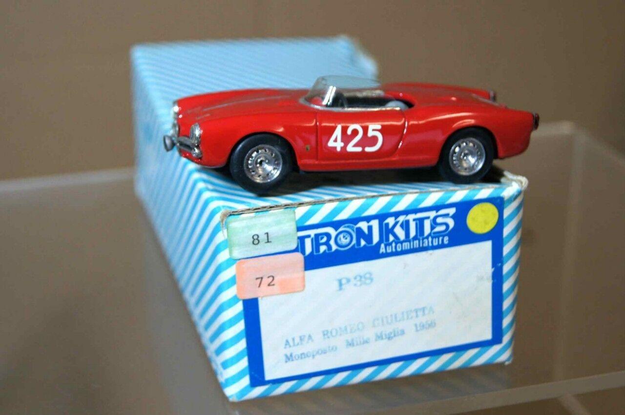 Tron 1956 Alfa Romeo Monoposto Mille Miglia 425 Ar