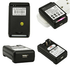 External Battery Wall Travel Charger Plug For Samsung Galaxy S3 S III i9300 US