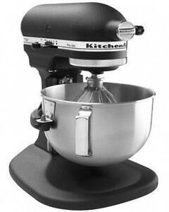 Image Is Loading Kitchenaid Rkp26m1xbk Pro 600 Stand Mixer 6 Qt