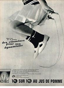 Publicite 1965 Jus De Pomme Donne Des Vitamines Autres Collections