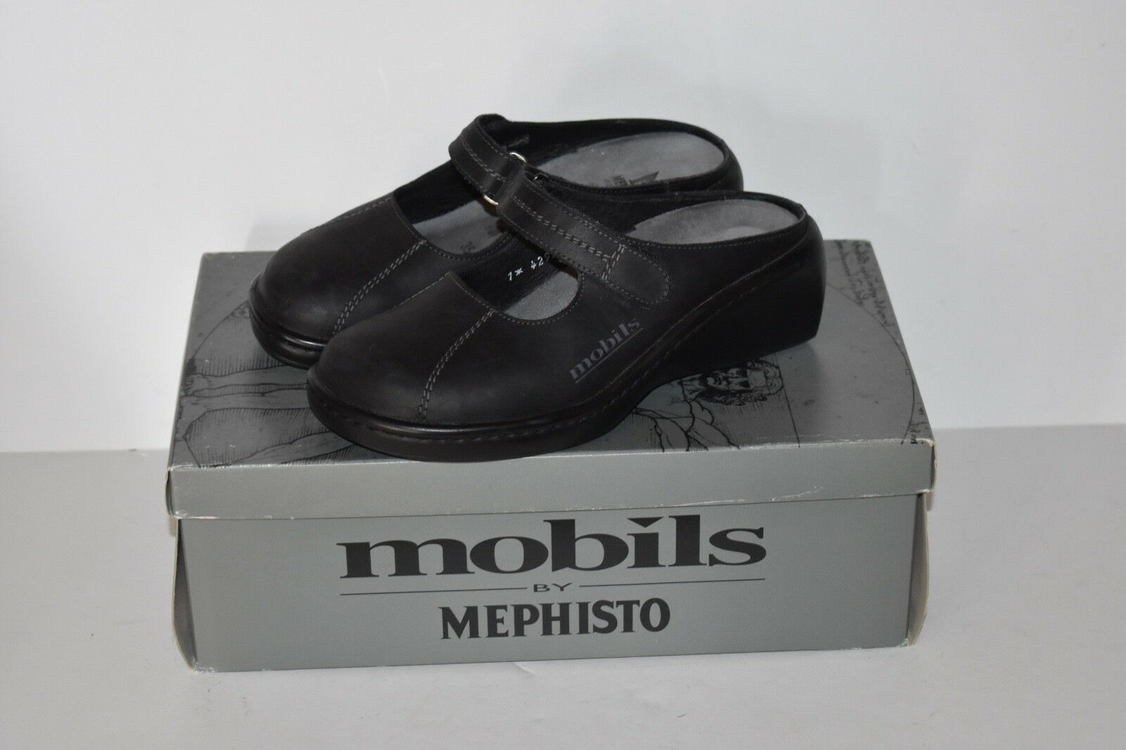 Mephisto Mobils donna's Dimensione 5 Slip On Slide Mary Jane Comfort scarpe